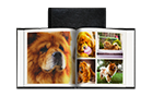 Livre photo Instagram en cuir