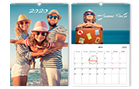 Calendrier photo mural